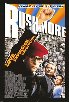 This 1998 Rushmore movie watched recently, movie is good