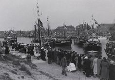 Haven van Scheveningen 1949