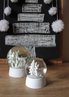 arbol de navidad pompones lana