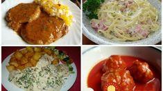 Už nikdy nebudete váhať, čo na rýchlu večeru: 9 receptov na minútkové omáčky, ktoré pripravíte aj so zatvorenými očami! Slovak Recipes, Pesto, Spaghetti, Food And Drink, Ethnic Recipes, Red Peppers, Noodle