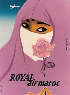 Royal Air Maroc by Gauthier Alain / 1958