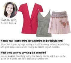 #BurdaStyle Team Style Picks #sewing #diy #DeniseWild