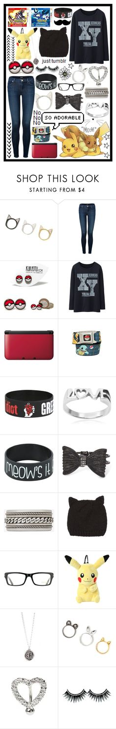 """""""ORaS Hyyyype"""" by cupa1213 ❤ liked on Polyvore featuring J Brand, Uniqlo, Nintendo, Tressa, Decree, Yves Saint Laurent, dELiA*s, Tom Ford, Hai and Pokemon"""