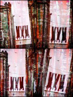 'Italian laundry' von Gabi Hampe bei artflakes.com als Poster oder Kunstdruck $18.03