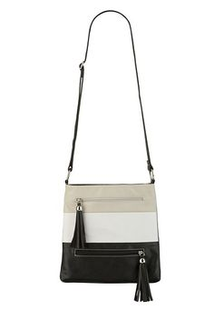 colorblock cross body bag