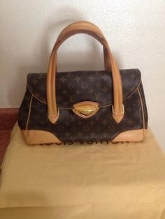 Louis Vuitton 100% Beverly Gm With Dustbag. Shoulder Bag $990