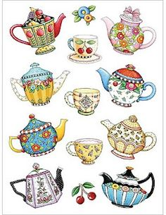 teapots make me smile :)