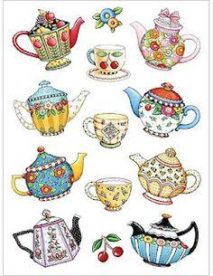 teapots make me smile :)
