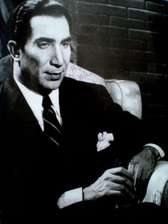 Youssef Wahby - (1900-1982) one of Egyptian cinema's pioneers who was present throughout Egypt's golden cinema age (1930's-1970's). An extremely versatile and talented actor.