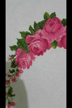 Going On Holiday, Cross Stitch Flowers, Diy And Crafts, Alphabet, Elsa, Embroidery, Canvas, Floral, Needlepoint