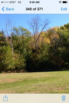 Fall is here at the campgrounds.