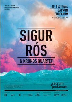 Sigur Rós & Kronos Quartet Poster. Via Hidden Universe.