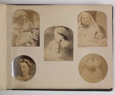Julia Margaret Cameron compiled a photo album for her son containing 112 miniature albumen prints which are copies of her larger works.