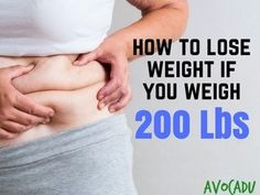 Follow these diet steps to learn how to lose weight if you weigh 200 lbs or more, and you can lose weight without working out in the beginning too!