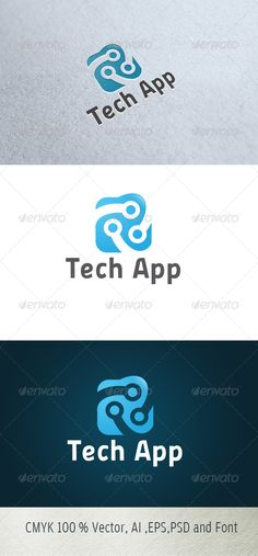 Logo for sale just 29$  Tech Logo