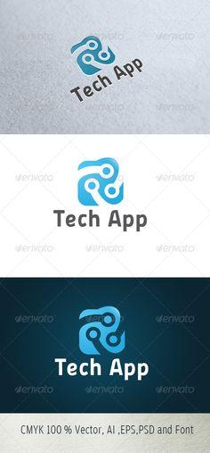Logo for sale just 29$  Tech Logo
