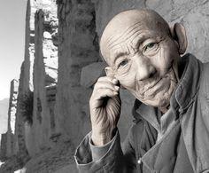Phil Borges: Tibetan Portrait, 1994.