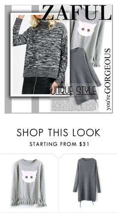 """""""unique stye"""" by melodibrown ❤ liked on Polyvore featuring zaful"""