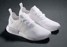Sonho de consumo para os pés: esse Adidas NMD branco.