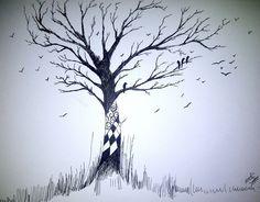 tree sketch by BLACK-CROWN