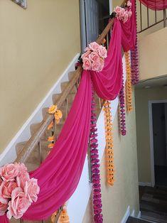 Wedding Hall Decorations, Desi Wedding Decor, Luxury Wedding Decor, Marriage Decoration, Wedding Mandap, Wedding Staircase, Housewarming Decorations, Wedding Designs, Wedding Ideas