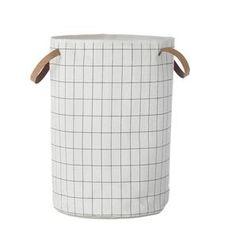 Grid Laundry Basket #worthynzhomeware wwworthy.co.nz
