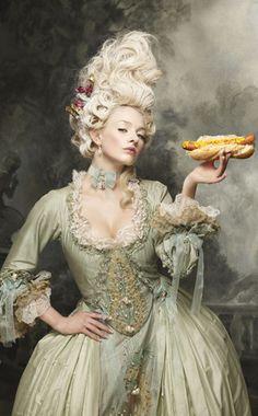 A Victorian Hot dog.....