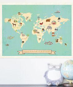Compassion World Map Print