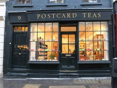 One of the best Tea Merchants in world.       Postcard Teas: Dering Street by curry15, via Flickr