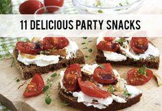 Food: Eleven Delicious Party Snacks