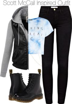 Fan of Teen Wolf? This Scott McCall inspired outfit is for you ;)