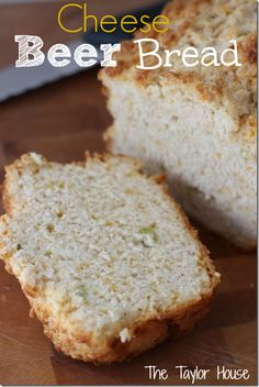 Simple and delicious Cheese and Onion Homemade Beer Bread Recipe #beerbread