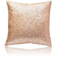 Sequins Pillow Sofa Pillow Holiday Pillow ($13) ❤ liked on Polyvore featuring home, home decor, throw pillows, home textiles, throws & pillows, sequin throw pillow, holiday throw pillows and holiday home decor