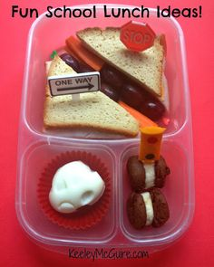 Lunch Made Easy: All Signs Point to LUNCH!  Simple & Fun School Lunchbox Ideas for Kids