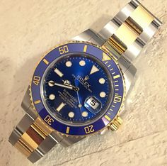 Love this two toned Rolex Submariner!