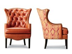 Shop for Leathercraft Furniture Kelly Tufted Wing Chair, and other Living Room Wing Chairs at Hickory Furniture Mart in Hickory, NC. Leather Wingback Chair, Leather Furniture, Leather Chairs, Hickory Furniture, Patterned Chair, Painted Chairs, Chair Fabric, Upholstered Chairs, Tufted Chair