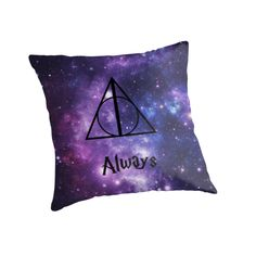"""the perfect pillow! """"Always Harry Potter"""""""