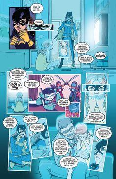 Babs Tarr issue 36 Batgirl part 5