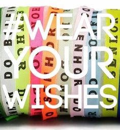 Brazilet Contest! Tag us wearing your wishes for a chance to win FREE Brazilets! Visit our Facebook page for more information!