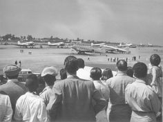 Plane watching was a major attraction in São Paulo after the opening of Congonhas airport in the 1950's.