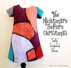clever christmas costumes nightmare-before-christmas-sally-dress Sally Halloween Costume, Halloween Costumes For Kids, Halloween Party, Sally Nightmare Before Christmas, Jack And Sally Costumes, Christmas Characters, Disney Costumes, Christmas Costumes, Holidays Halloween