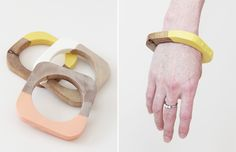 Lottie Loves...: Wearables >> Dipped Bangles