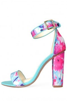 Alanis Floral Block Heel Sandal in Blue Plain Dress, Floral Shoes, Block Heels, Sandals, Lady, Wedding Outfits, How To Wear, Blue, Fashion