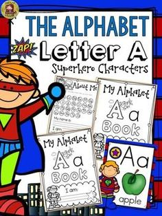 The Alphabet A booklet features  interactive activities for the letter A. Students get to compile all activities in a booklet to take home.  https://www.teacherspayteachers.com/Product/PHONICS-THE-ALPHABET-LETTER-A-2301913