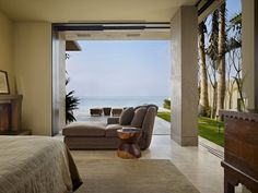 Gorgeous modern stone house on the beach