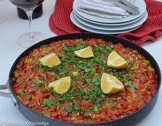 Vegan Paella featured on Vegan Delish | www.vegandelish.com