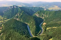 National Park of Pieniny - Slovakia. Royal Crowns, Down The River, Rafting, Poland, Grand Canyon, National Parks, Scenery, Water, Travel