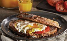 Sandwichs aux œufs au « Lever du jour » - Frawsy