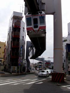 This rules! // Shonan Monorail / Kanagawa pref., Japan. ( I had so much fun riding this. )