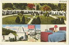 Silver Gable Tourist Court and Restaurant, 1/2 mile west of Roanoke, Virginia on U.S. 11